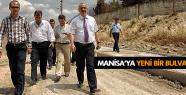 MANİSA'YA YENİ BİR BULVAR KAZANDIRILIYOR