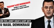 ÖZGÜR ÖZEL AHMET ÇINAR'A SAHİP ÇIKTI