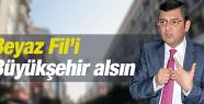 ÖZGÜR ÖZEL BEYAZ FİL'İ BÜYÜKŞEHİR ALSIN