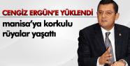 """Özgür Özel; """"Cengiz Ergün 2012 yılında Manisalıya korkulu rüyalar yaşattı"""""""