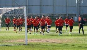 Manisaspor, Sivasspor hazırlıklarını sürdürüyor