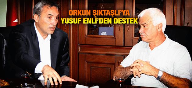 YUSUF ENLİ'DEN ORKUN ŞIKTAŞLI'YA TAM DESTEK