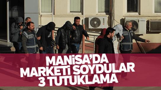 Manisa'da hırsızlık 3 tutuklama