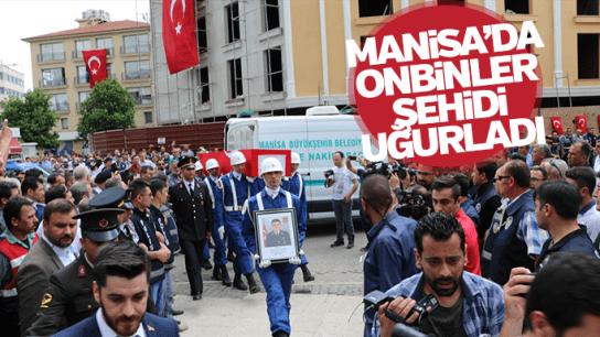 Şehit Jandarma Astsubay Kozak son yolculuğuna uğurlandı
