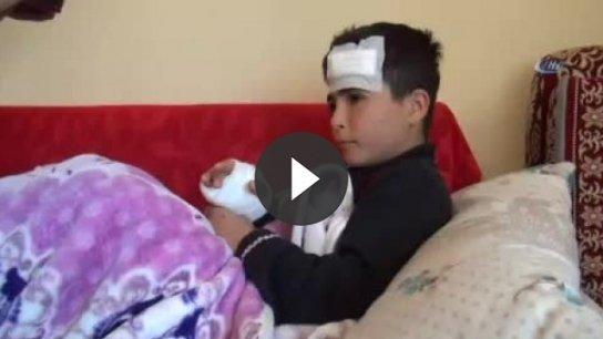 Emirhan'ın servis kapısından düşüp yaralanmasına soruşturma