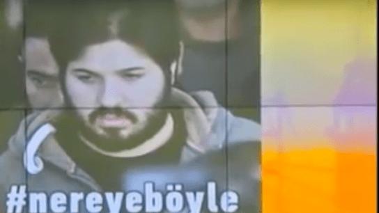 Reza Zarrab'ın Tutuklanma Haberi Verilirken...