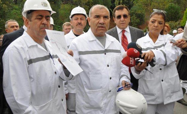 TBMM KOMİSYONU ÜYELERİ 3'ÜNCÜ KEZ SOMA'DAKİ MADENDE