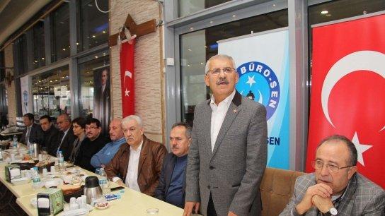 Büro- Sen Genel Başkanı Yokuş'tan sert açıklamalar