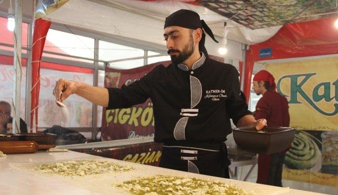 Gaziantep'in eşsiz mutfağı Manisalılarla buluştu