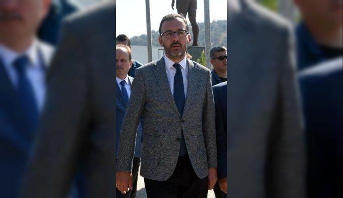 Bakan Kasapoğlu, 27-28 Eylül'de Manisa'da
