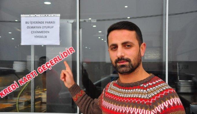 Manisa'da 'İnsanlık ölmedi' dedirten lokanta