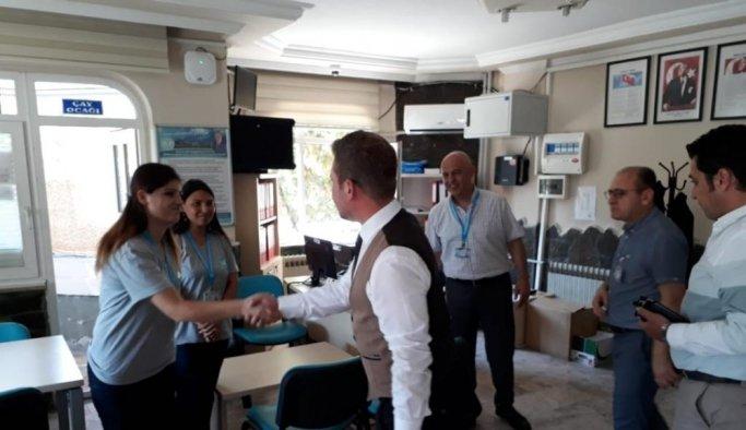 Demirci'deki Eğitim Merkezine inceleme ziyareti