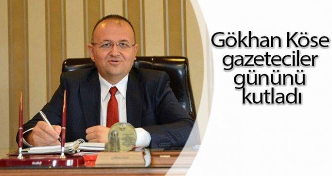 Gökhan Köse gazeteciler gününü kutladı