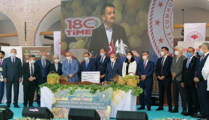 Bakan Pakdemirli üzüm fiyatını açıkladı