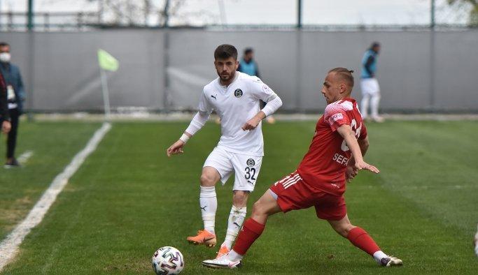 Manisa Futbol Kulübü - Anagold 24Erzincanspor: 1-1