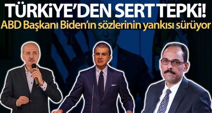 ABD Başkanı Joe Biden'a Türkiye'den tepkiler
