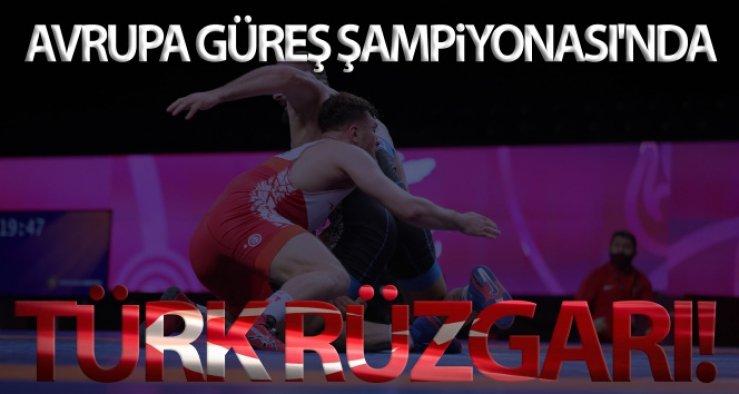 Avrupa Güreş Şampiyonası'nda Türk rüzgarı!