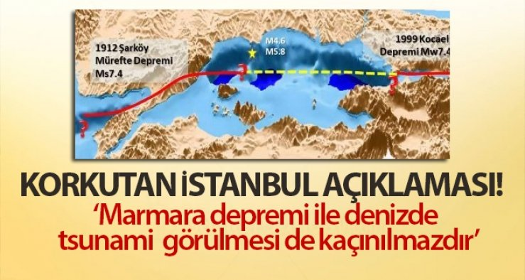 Korkutan İstanbul açıklaması
