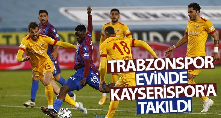 Trabzonspor: 1 - 1 Hes Kablo Kayserispor