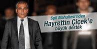 SPİL MAHALLESİ'NDE HAYRETTİN ÇİÇEK SESLERİ